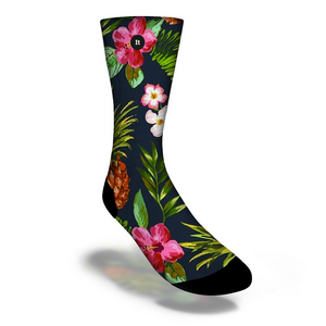 Meias Floral Tropical - ItSox