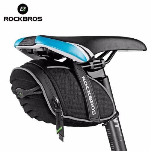 Bolsa Bike Rockbros Selim P/ Acessórios A Prova De Agua
