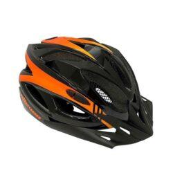Capacete Ciclismo Elleven Adult - Preto/Laranja