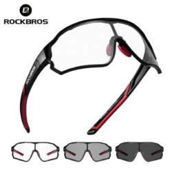 Óculos Profissional Para Ciclismo De Estrada Fotocromático Rock Bros