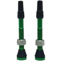Par Válvula Bico Tubeless Arstop 45mm - Verde